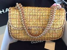 Chanel Brand New Tweed Coco Flap Handbag Purse Pick Up @ LA
