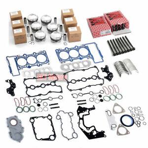 Engine Pistons Vlaves Overhaul Rebuild Kit For 3.0TFSI Audi VW CMU CAK CAJ CJT