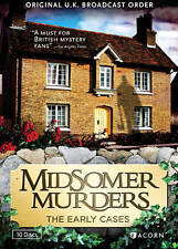 MIDSOMER MURDERS: THE EARLY CASES COLLECTION (REISSUE), New DVDs