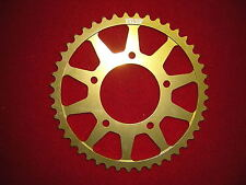 44T 525 Rear Alloy Gold Anodised Sprocket   New ba Suzuki SV650 1999-2017