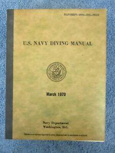Vintage Scuba Commercial Military U.S. Navy Diving Manual Double Hose Regulator