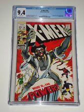 X-Men (Uncanny) #56 (May 1969) CGC 9.4 1st Living Monolith, Neal Adams X-men Art