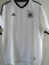 Germany Home 2002 WC Final Football Shirt Size Extra Extra Large /40313 xxl