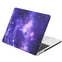 "GALAXY PURPLE Hard Case for MacBook Pro 13"" A1989/ A1706/1708-RELEASE 2018/17/16"