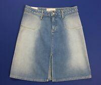 Paper jeans ricochet gonna nuovo donna denim w30 tg 44 azzurro sexy hot T4213