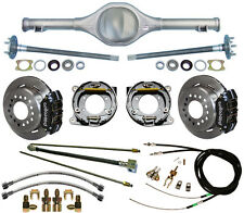 CURRIE 64-66 MUSTANG REAR END & WILWOOD DISC BRAKES,LINES,E-BRAKE CABLES,AXLES,+