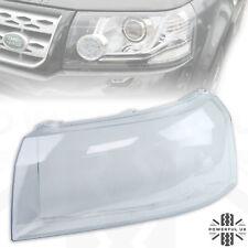 Headlight lens for Freelander 2 (2012-14) replacement glass Left LH N/S headlamp