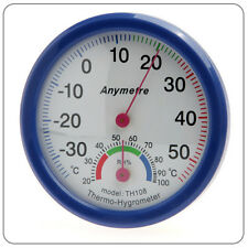Thermometer and Hydrometer / Temperature Humidity Measure Scale Gauge D