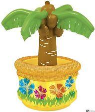 Inflatable Palm Tree Cooler M90694 Party Decoartion Hawaiian Tropical Luau