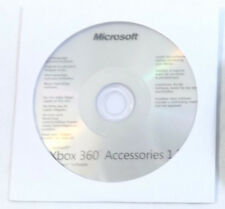 Official Microsoft Xbox 360 Accessories 1.2 Windows Software Pc Cd Disc New
