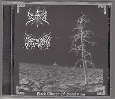 SAD / SAPTHURAN - black winter of desolation CD