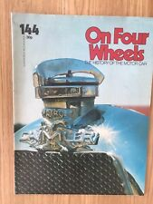 ON FOUR WHEELS MAGAZINE 1975 EDITION 101 BRILLIANT CONDITION--SCARAB