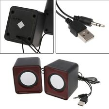 Wired Mini Speakers USB 2.0 for Laptop PC MP3 Multimedia Speaker Random Color