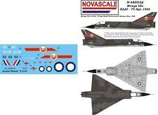 RAAF Mirage IIIo Mini-Set Decals 1/48 Scale N48053d