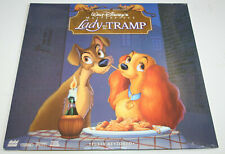 Walt Disney Lady and the Tramp Laserdisc LD Fully Restored Widescreen Brand New
