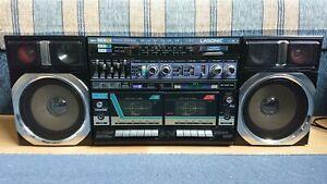 Lasonic L30K Boombox Stereo Cassette Recorder Player FM/AM/SW Radio Receiver