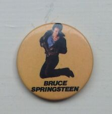 Bruce Springsteen Vintage Button  Badge made in England #B1