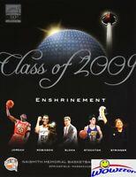 (5) 2009 NBA Basketball Hall of Fame Enshrinement Programs MICHAEL JORDAN++