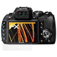 atFoliX 3x Screen Protector voor Fujifilm FinePix HS25EXR mat&schokbestendig