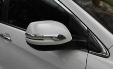 2pcs Door Rearview Mirror Strip Cover Trim fit for Honda CRV CR-V 2012-2015