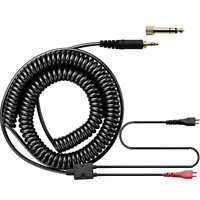 Coiled Cable For Sennheiser HD 25-sp HD 222 HD 224 HD 414 Headphone Extra Cable