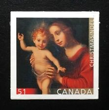 Canada #2183 Die Cut MNH, Christmas - Madonna and Child Stamp 2006
