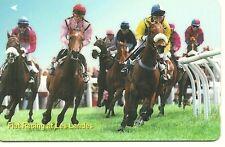 RARE / CARTE TELEPHONIQUE - CHEVAL COURSE HIPPIQUE - HORSE RACING / PHONECARD