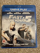 Fast & Furious 5 Blu Ray NEW SEALED
