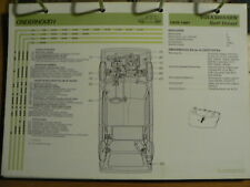 VOLKSWAGEN VW GOLF DIESEL 1976-81 INFO TECHNICAL INFORMATION CAR AUTO  OLY128