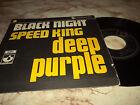 """DEEP PURPLE """"BLACK NIGHT/SPEED KING"""" 7"""" BELGIUM RARE"""