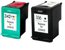 HP336 NEGRO HP342 COLOR REMANUFACTURADO Photosmart c3180 C 3180 PSC 1500 1503