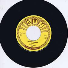 EDWIN BRUCE - SWEET WOMAN / PART OF MY LIFE (Killer SUN label ROCKABILLY) REPRO