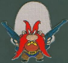 Looney Tunes Yosemite Sam Figure with Six-Guns Embroidered Patch NEW UNUSED