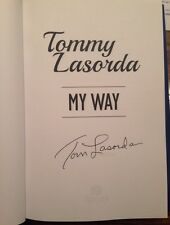 """""""Tommy Lasorda: My Way"""" - MLB DODGERS HOF WORLD SERIES SIGNED BOOK FIRST EDITION"""
