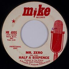 HALF A SIXPENCE: Mr. Zero / Can It Be MIKE Obscure Rock Group 45 MP3