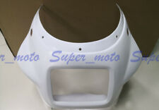 ABS Nose Fairing Cowl Head Plastic Fit For Yamaha RZV500 R RD500 1985 Unpainted