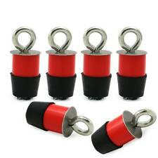 6pcs Lock and Ride Type Tie Down Anchors Anchor For Polaris Ranger General US