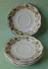 JOHNSON BROTHER BROS China ANTIQUE Dinnerware Set TUSCANY DEMITASSE CUP SAUCER-6