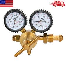 Us Nitrogen / Inert Gas Regulator W/ 0-800 Psi Hvac Purging Inertization Cga580