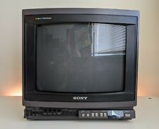 "LOOK!!! SONY TRINITRON KV-1370R Color 13"" CRT RETRO GAMING TV"