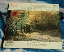ELGAR MINIATURES 1985 UK LP CHANDOS CBR 1016 LEON GOOSSENS, NORMAN DEL MAR