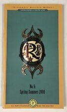 Vintage Rivendell Bicycle Works Catalog & Price List #6 Spring-Summer 2000