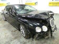 2010 Bentley Contintal GT *BREAKING* Engine Gearbox Door Wheel Light Bumper Hood