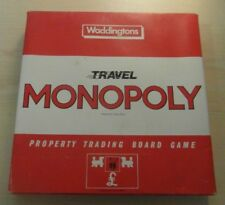 Vintage Travel Monopoly Property Trading Game. By Waddingtons. Complete. 44025