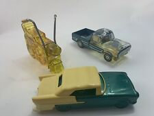 Three Avon Car cycle Decanters. 73 ranger 55 Chevrolet and super cycle.