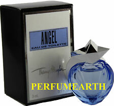 ANGEL  MINI 0.1 OZ EDT SPLASH FOR WOMEN BY THIERRY MUGLER & NEW IN A BOX
