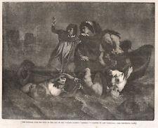 Ary Scheffer, Caronte, 1856 xilografia