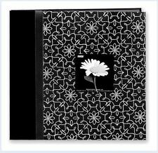 Pioneer Photo Album ~Postbound 12x12 OLIVIA EMBROIDERED FRAME Floral ~MB10CBFBW