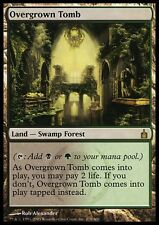 Foil - TOMBA INFESTATA DA ERBACCE - OVERGROWN TOMB Magic RAV Mint