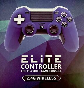 ELITE CONTROLLER PS4 2.4G WIRELESS - For PS4/PC - Improve accuracy - Better grip